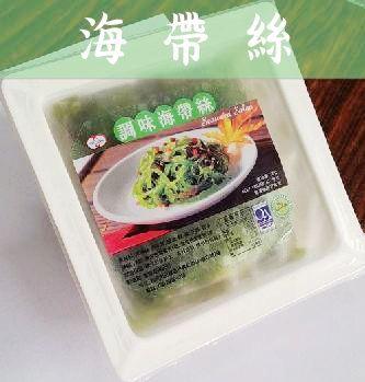 《鮮樂GO》日式調理/ 200g/盒 珍味海帶絲