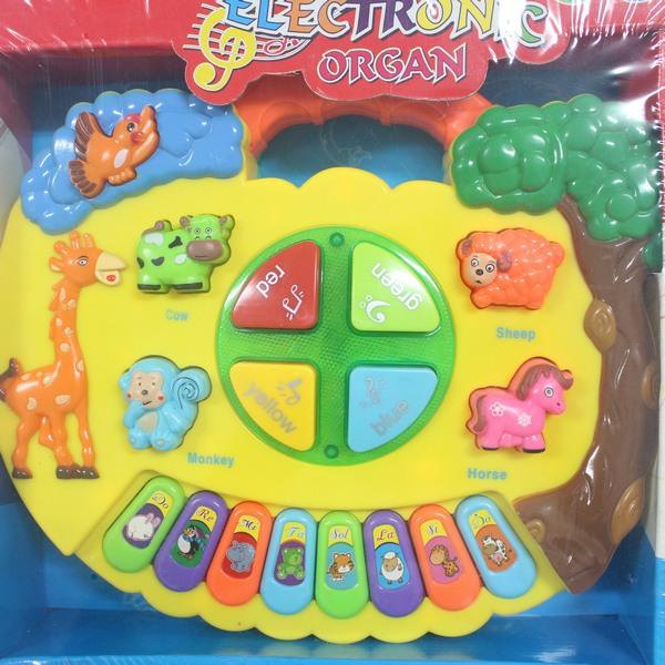動物音樂琴 手提兒童電子琴(附電池)CF-104129/一個入{促299}