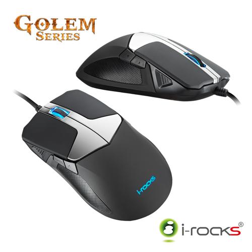 [福利品] i-Rocks M20 Golem光學電競滑鼠_Razer雷蛇比較