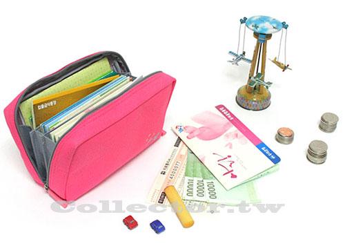 【G13090401】韓國多功能帆布化妝包 存摺包/收納包/零錢包/數碼包/鑰匙包
