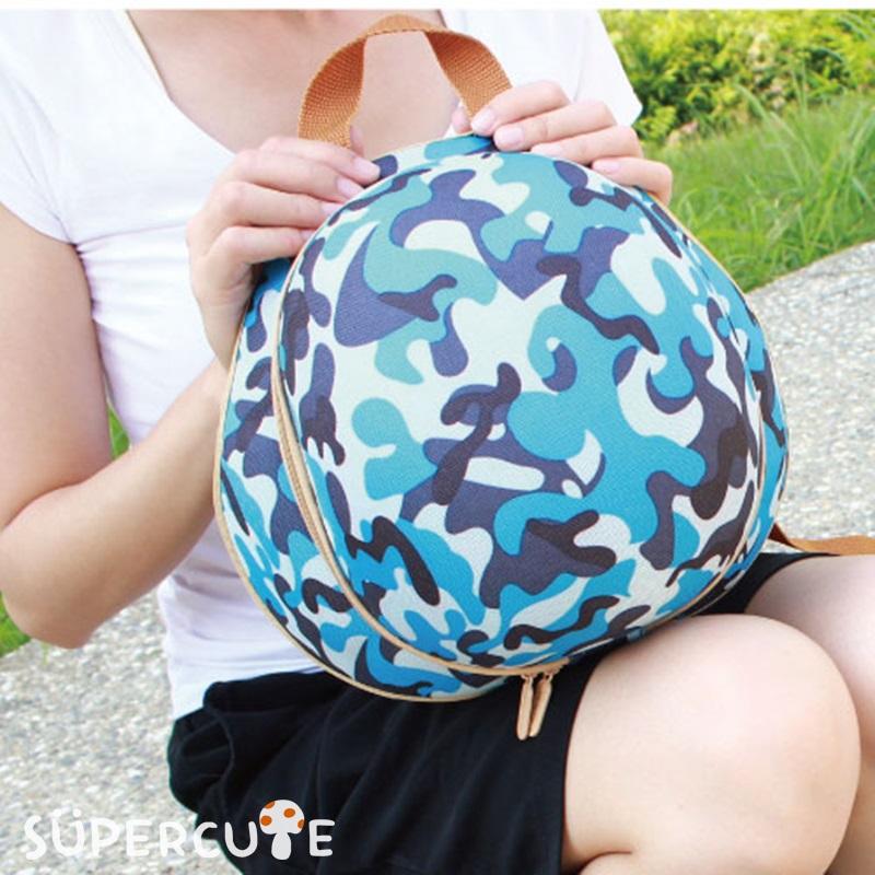 Supercute 頭盔迷彩雙肩背包(三色)-蘋果日報推薦