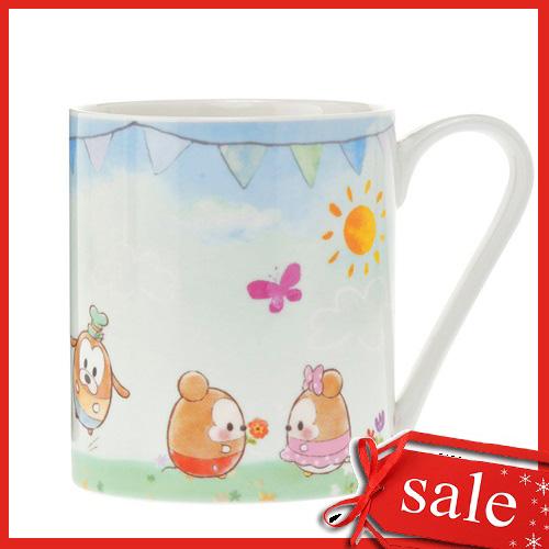【真愛日本】4936313728323 馬克杯-ufufy雲朵系列   迪士尼 米老鼠米奇 米妮  馬克杯 杯子  聖誕節 交換禮物 聖誕市集
