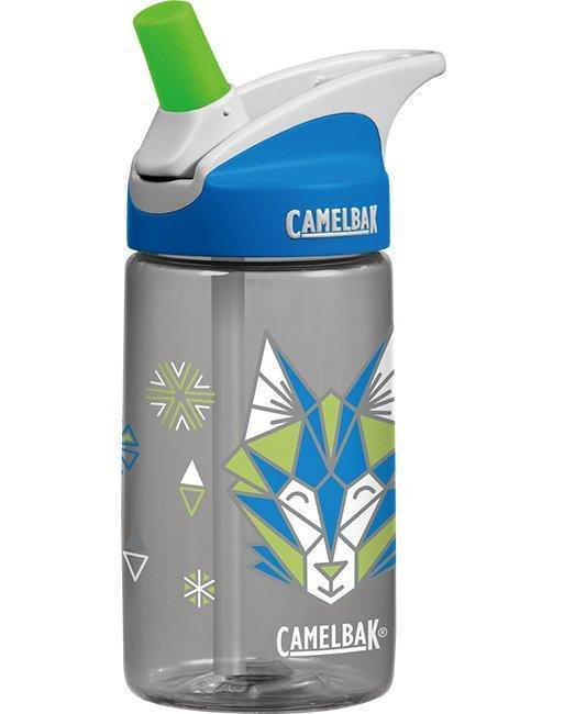 Camelbak 兒童水壺/吸管運動水瓶/吸管水瓶 eddy 400ml CB54179 帥氣灰狼