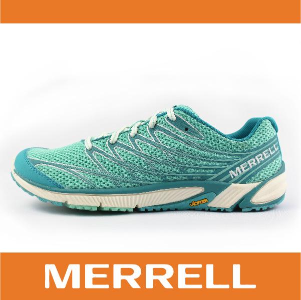 【出清7折】萬特戶外運動 MERRELL 35844 BARE ACCESS 4 女越野訓練跑鞋 赤足鞋 慢跑 抗菌 防臭 湖水綠色