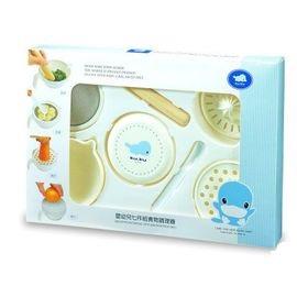 【全系列滿$500送夜燈玩具】台灣【Kuku 酷咕鴨】副食品料理器-七件組