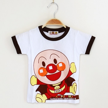 【Pink Pony】麵包超人寶寶全棉短袖T恤