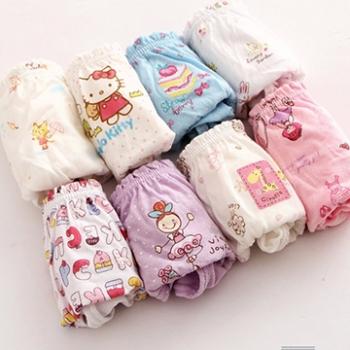 【Pink Pony】棉質女寶寶三角內褲3條