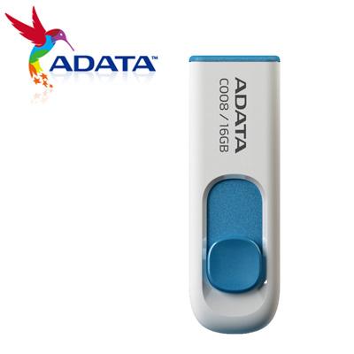 威剛 A-DATA 隨身碟 滑翔碟 16G 白 C008 / 個