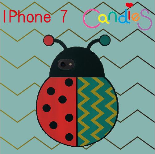 【Candies】瓢蟲手機殼-IPhone 7(預購)