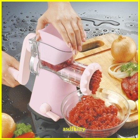 asdfkitty可愛家☆貝印粉紅色絞肉機--低脂魚絞肉.雞絞肉-嬰兒副食品-寵物食品.零食-正版商品