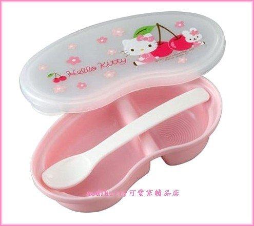 嬰童用品【asdfkitty】kitty攜帶型離乳碗/副食品調理盒/便當盒-可微波-日本製