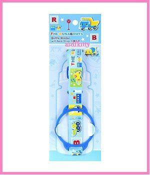廚房【asdfkitty可愛家】RB工程車水壺背帶/提袋 一般運動水壺/吸管水壺都可適用