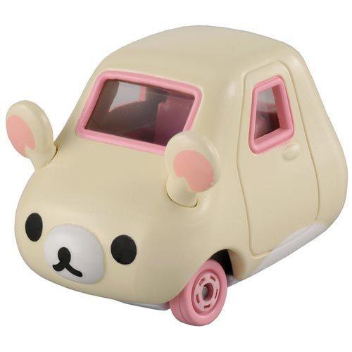 個人【asdfkitty】日本san-x懶熊懶妹/拉拉熊妹/牛奶熊-TOMY Dream TOMICA TM49906《TAKARA TOMY》