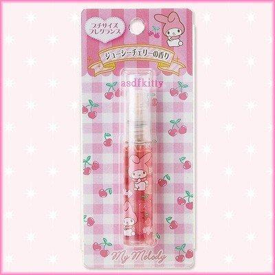 個人用品【asdfkitty】美樂蒂噴霧香水瓶/香水罐-櫻桃香-罐子可重複使用-日本正版韓國製