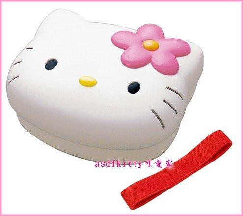 廚房【asdfkitty】KITTY大頭造型便當盒/水果盒/收納盒*可微波*