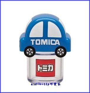 廚房【asdfkitty可愛家】TOMICA小汽車攜帶式香鬆罐-肉鬆-辣椒粉-拌飯粉-家用外出都好用