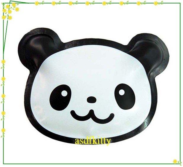 asdfkitty可愛家☆日本msa熊貓臉型保冷劑-超薄型-放便當盒或三明治盒-日本正版商品