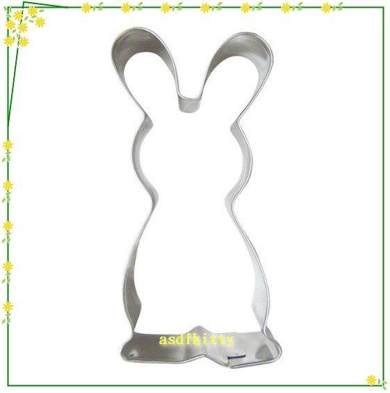 廚房【asdfkitty】貝印KAISER不鏽鋼模型-小白兔正面單入-可做餅乾.鳳梨酥.壓起司.蔬菜-德國製