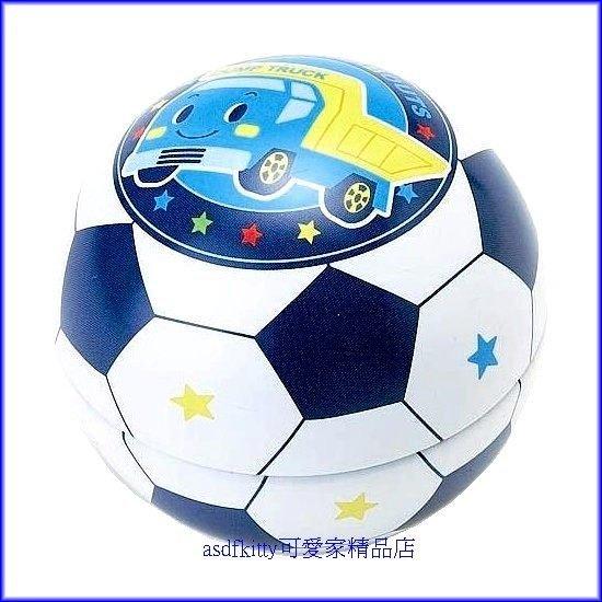 家用【asdfkitty】新幹線足球造型置物盒-放戒指.糖果.飾品當禮物包裝盒-日本版正版