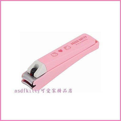 個人【asdfkitty】Kitty 貝印抗菌指甲剪刀-盒裝-M號大人用-指甲不亂飛-日本製