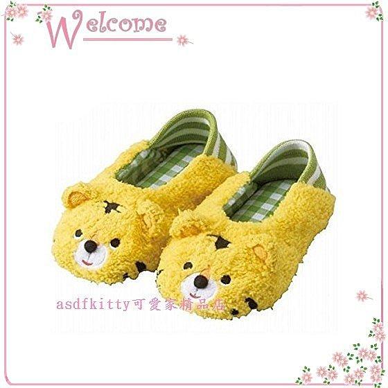嬰童用品【asdfkitty】Un doudou老虎造型室內鞋/巴布鞋-很像巧虎歐-日本正版商品
