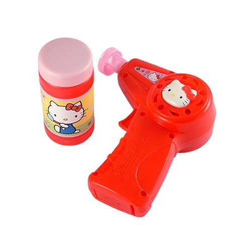 asdfkitty可愛家☆kitty 電動泡泡槍玩具-吹泡泡遊戲-兒童節.聖誕節禮物-台灣授權正版商品