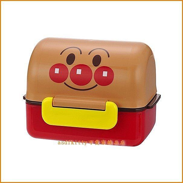 廚房【asdfkitty】麵包超人二段式飯糰便當盒-日本正版商品泰國製