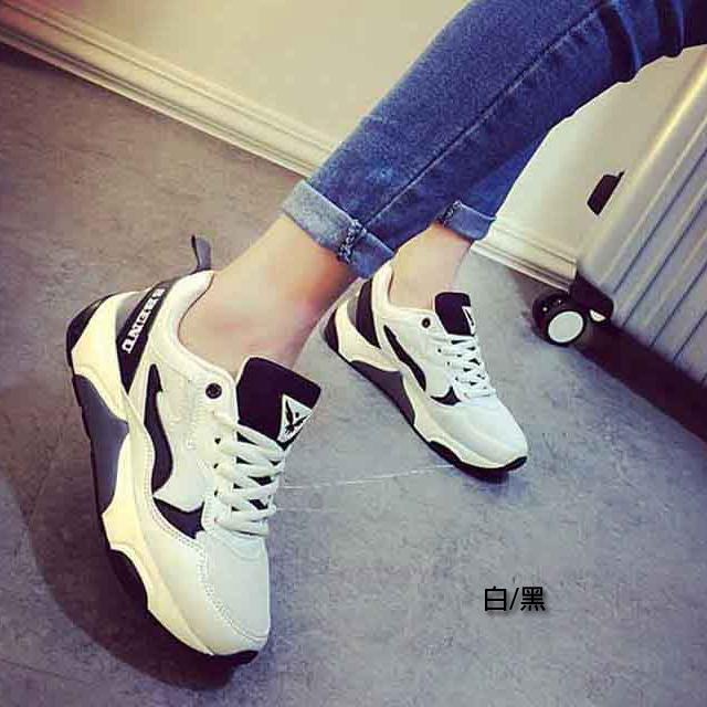 慢跑鞋 [與你時尚]韓國品牌SBENU 超百搭時尚 綁帶 運動鞋(158-2)