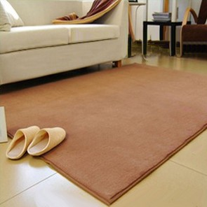 促銷特賣 經濟實用 抗漲促銷 80*160 CM 輕柔珊瑚絨 優質舒柔短毛防滑柔軟地墊/ 地毯