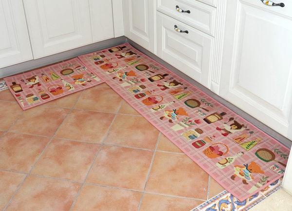 2014 繽紛療癒系 出口日本等級 45*120 CM 可愛小熊卡通地墊 吸水防滑地墊 廚房墊 門墊 玄關墊 地毯