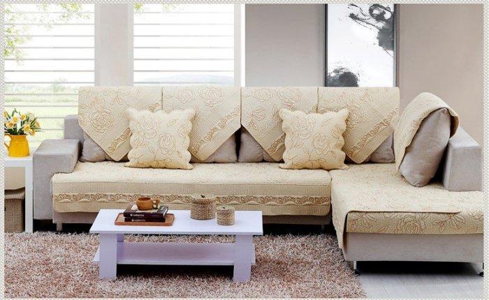 夏季唯美 推薦 70*120 CM 高級玫瑰繡花二人座沙發墊/ 坐墊/ 椅墊