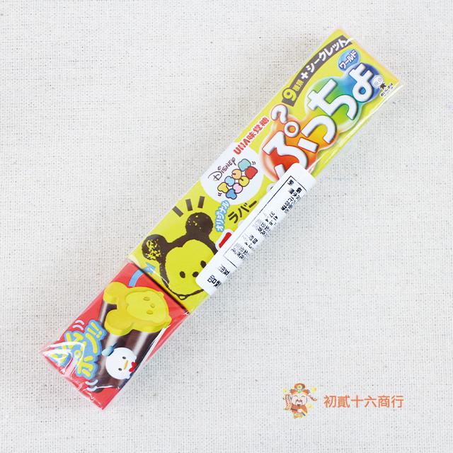 【0216零食會社】日本UHA味覺_迪士尼條狀軟糖(綜合水果風味)60g