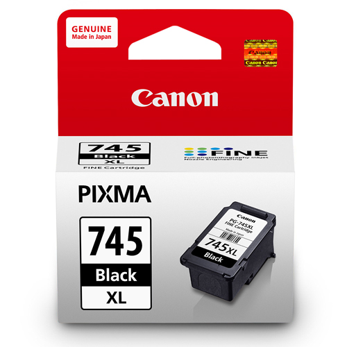 【CANON 墨水匣】 PG-745XL 黑色高容量原廠墨水匣