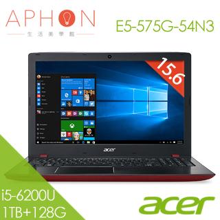 【Aphon生活美學館】ACER E5-575G-54N3 15.6吋 Win10 2G獨顯 筆電(i5-6200U/4G/1T+128G SSD)-送4G記憶體(需自行安裝)+acer保溫杯