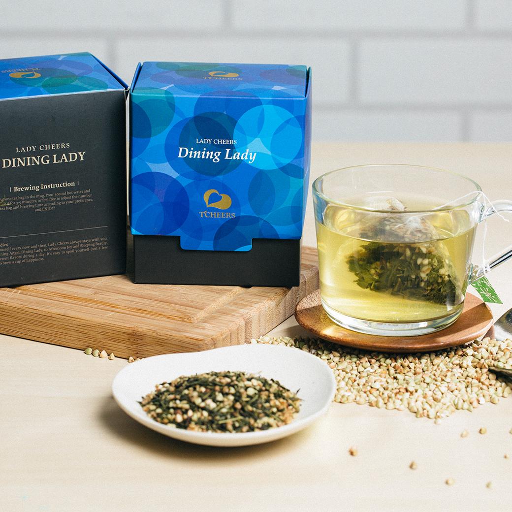 蕎麥綠茶 -佐餐蕎麥綠 花草茶禮盒   8包入/盒
