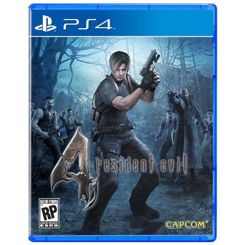 預購中 8月30日發售 亞洲英文版  [限制級] PS4 惡靈古堡 4