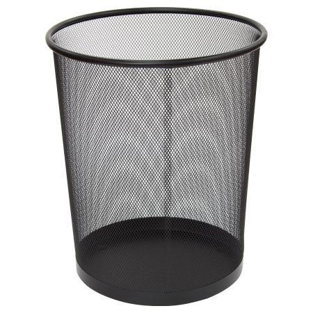 網狀垃圾桶 19L L BK