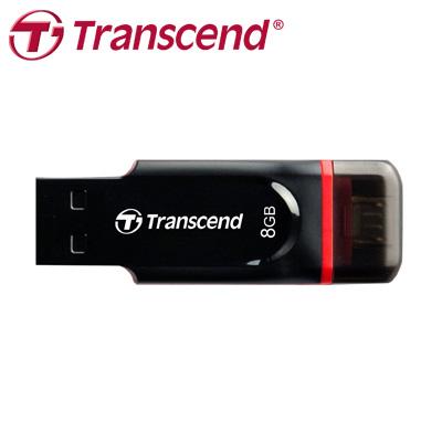 創見 JF340 8G USB 2.0 OTG 雙傳輸介面,Android專屬APP (不支援windows phone) / 個