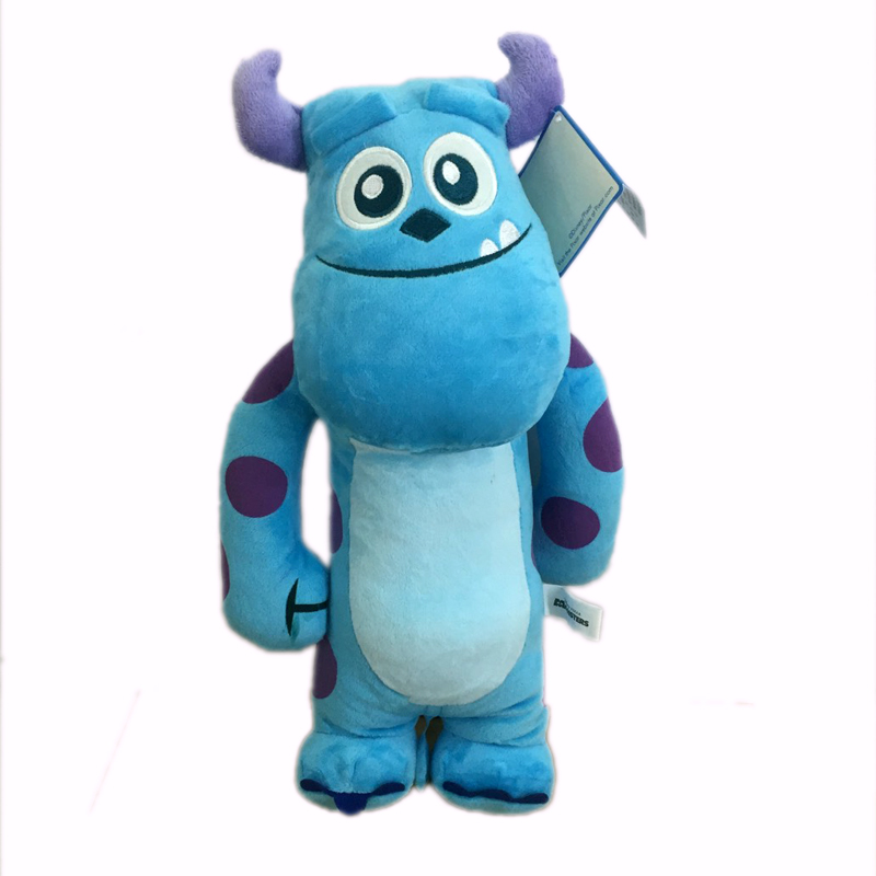 【真愛日本】15062000002 4號全身長抱枕40cm毛怪 迪士尼 怪獸電力公司 怪獸大學 娃娃 玩偶 正品 限量