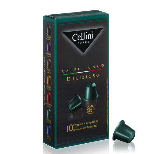 【雀義咖啡Cellini】義大利原裝進口雀義咖啡膠囊★德利歐索/摩登綠★