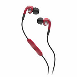 志達電子 S2FXFM-161 紅 美國 Skullcandy Fix In-Ear 耳道式耳機 for iPhone ipod Apple