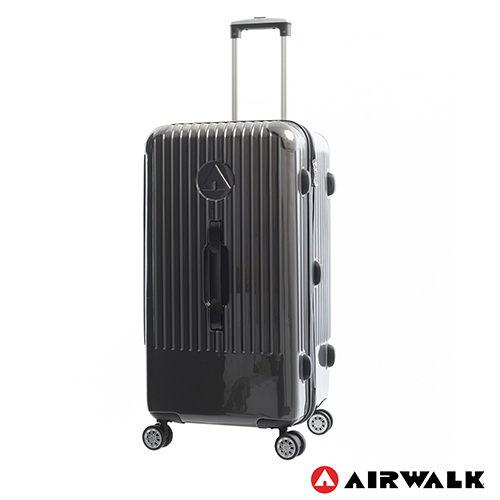 AIRWALK LUGGAGE - 【禾雅】旗艦系列 方塊之舞28吋大行李箱 - 灰