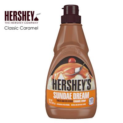 【HERSHEY'S】好時經典焦糖醬 / 15oz (425g)