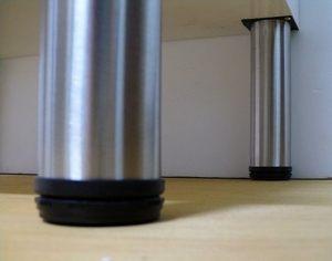 不鏽鋼腳柱 櫃腳(落地浴櫃專用)