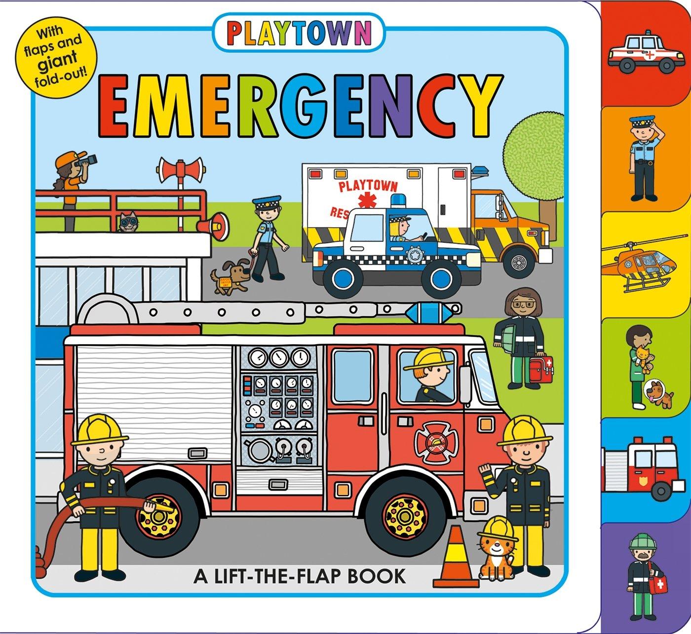 Playtown:Emergency 歡樂城即刻救援 硬頁翻翻操作書(英國版)