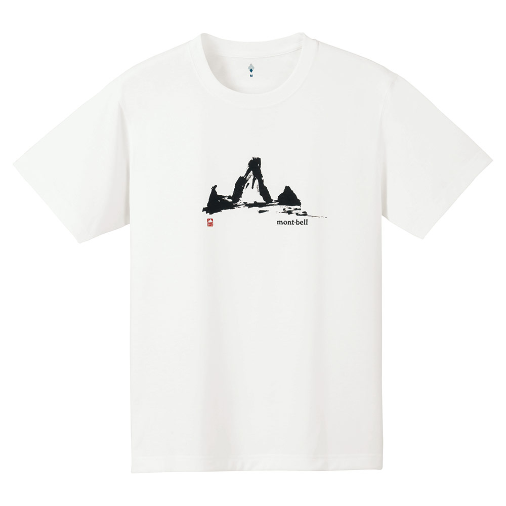 ├登山樂┤Mont-Bell WICKRON T-SHIRT 男 透氣排汗短袖 #1114145