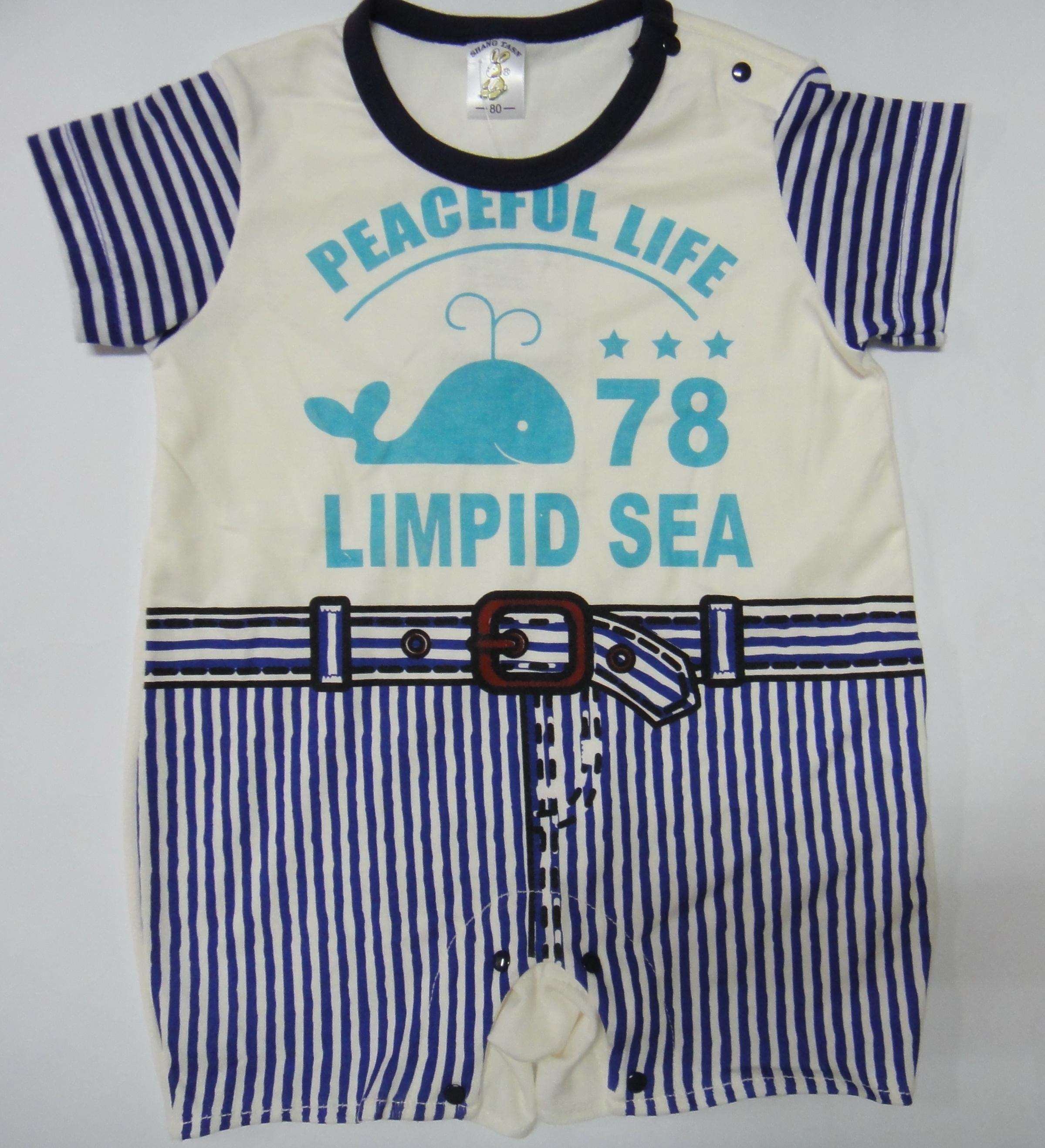 新款~鯨魚連身褲