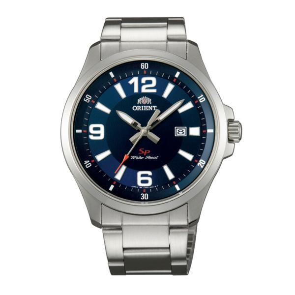 Orient 東方錶(FUNE1005D)城市休閒腕錶/藍面42mm