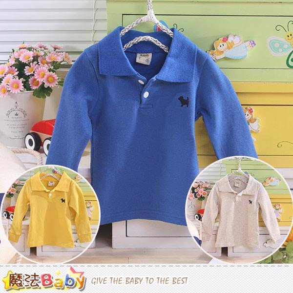 嬰幼兒長袖POLO衫 魔法Baby~k43501