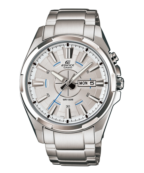 CASIO EDIFICE EFR-102D-7A流行運動腕錶/白面43.6mm